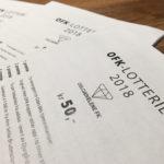 Trekningsliste: OFK-lotteriet 2018